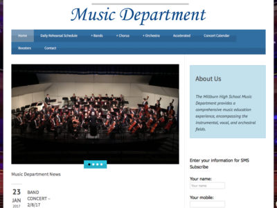 Millburn HS Music Department